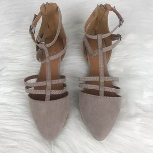 Qupid suede flats   size 6